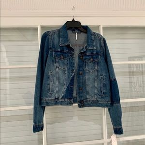 Free people NWT Jean jacket
